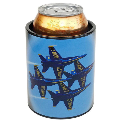 U.S. Navy Blue Angels F18 Diamond Pattern can cooler