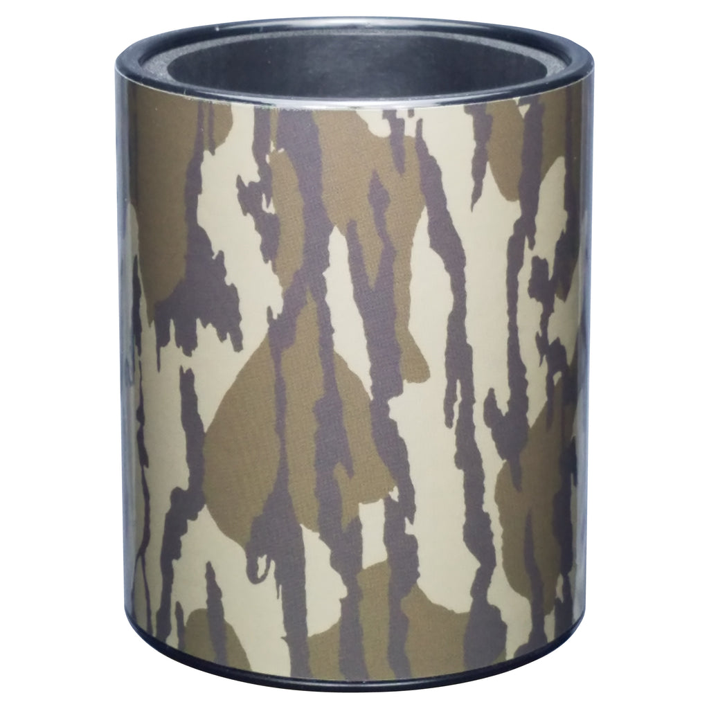 Camouflage Premium Insulated Beverage Holder Keepzit Kooler - Black