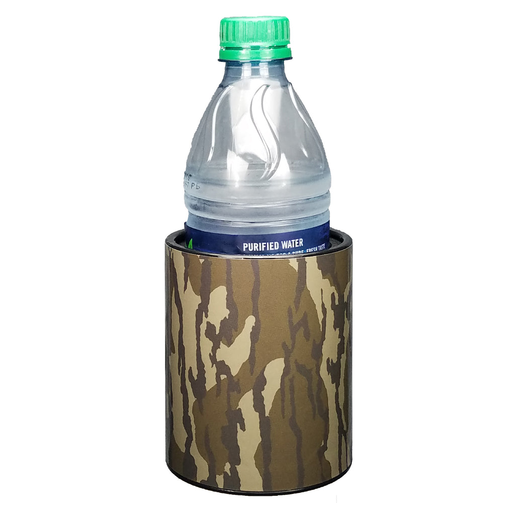 Camo Premium Insulated Beverage Holder Keepzit Kooler - Black