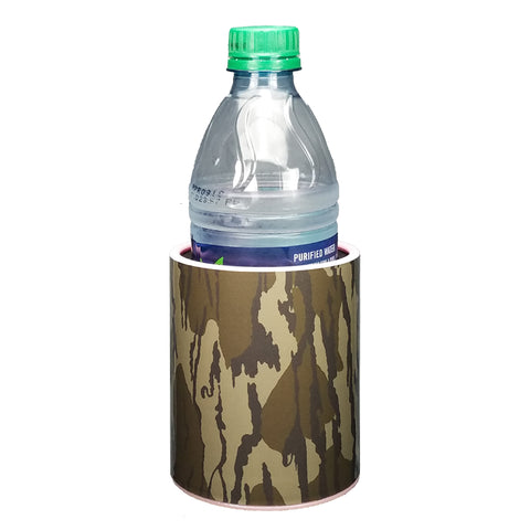 Green Camo Premium Insulated Beverage Holder Keepzit Kooler - Pink