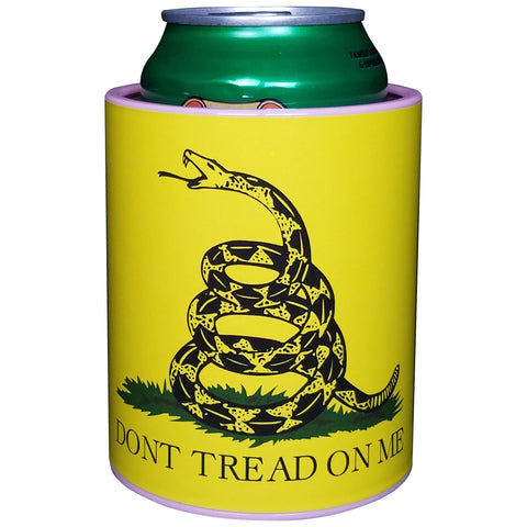 Image of KEEPZIT KOOLER DON'T TREAD ON ME PREMIUM INSULATED BEVERAGE HOLDER