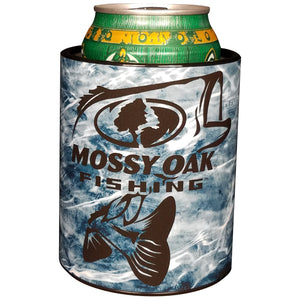 Keepzit Kooler Bass Mossy Oak Fishing Premium Insulated Beverage Holder