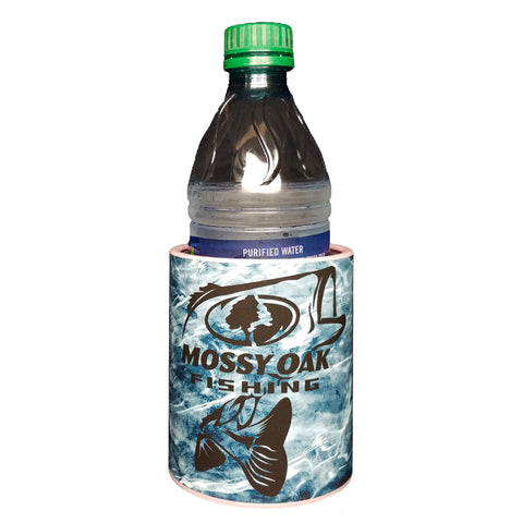 Image of Bass Mossy Oak Fishing Premium Insulated Beverage Holder