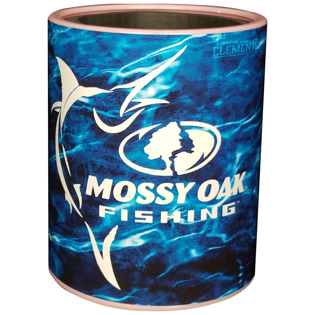 Keepzit Kooler Marlin Mossy Oak Fishing Premium Insulated Beverage Holder