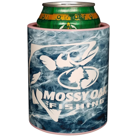 Keepzit Kooler Trout Mossy Oak Fishing Premium Insulated Beverage Holder