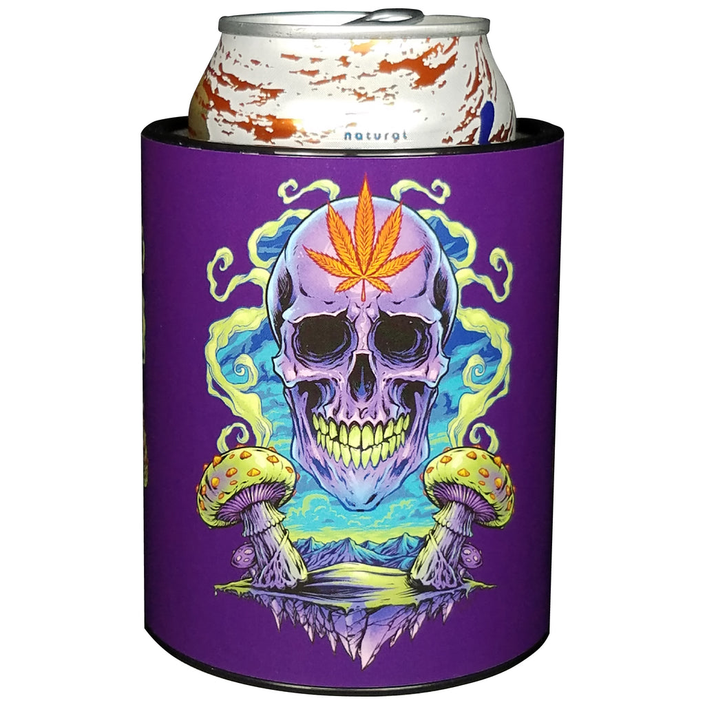 Keepzit Kooler Purple Cannabis Premium Insulated Beverage Holder