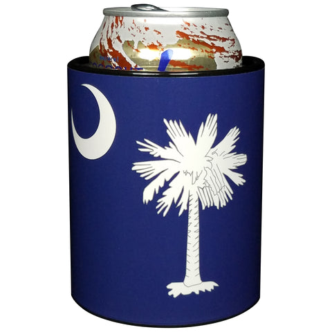 Keepzit Kooler South Carolina Flag Premium Insulated Beverage Holder