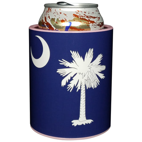 Image of Keepzit Kooler South Carolina Flag Premium Insulated Beverage Holder