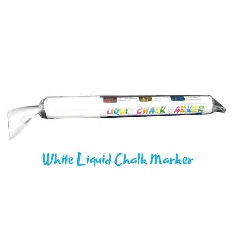 Keepzit Kooler Wet Erase Liquid Chalk Marker - White