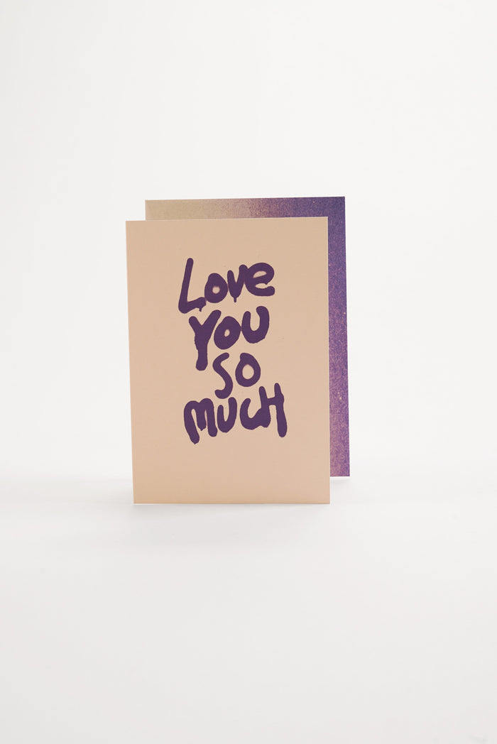 Love You - Spray Greeting Card