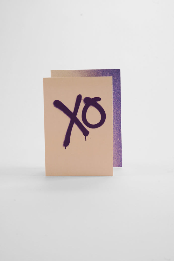 XO - Spray Greeting Card