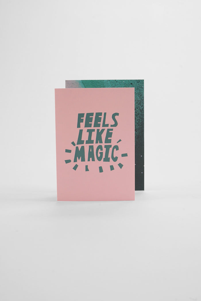 Magic - Spray Greeting Card