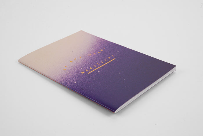 By Any Means Spray Ombre - A5 Luxe Notebook