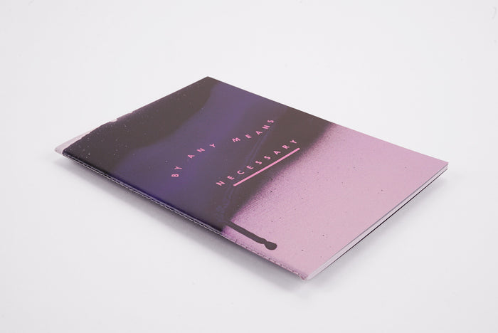 By Any Means Spray - A5 Luxe Notebook