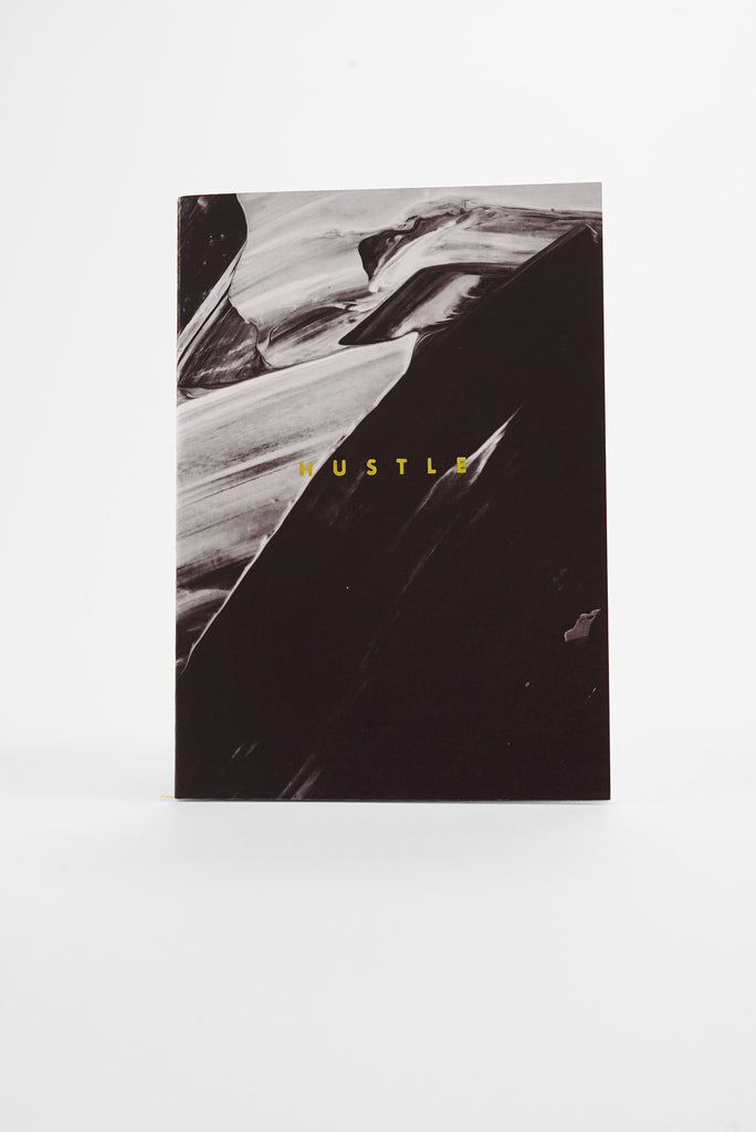 Hustle Abstract - Monochrome A5 Luxe Notebook