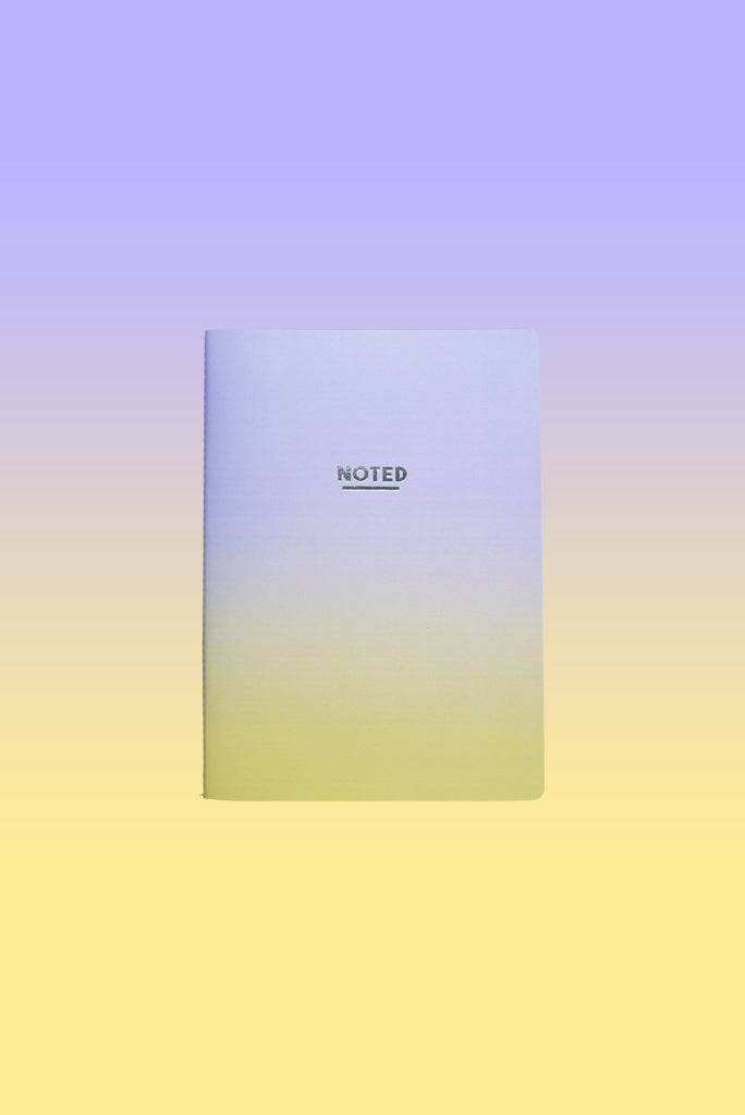Sunset Purple Yellow - Medium Luxe Notebook