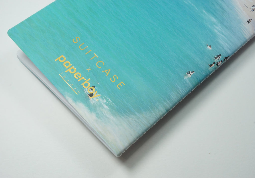 Life's A Beach One - A5 Luxe SUITCASE Notebook