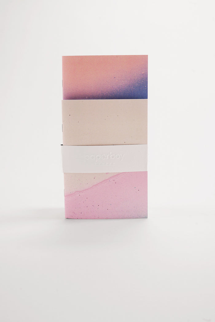 Pastel Ombre - Pocket Notebooks Twin Pack