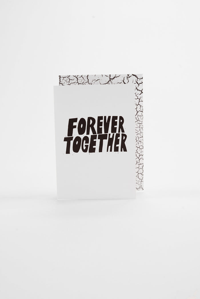 Forever Together - Monochrome Greeting Card