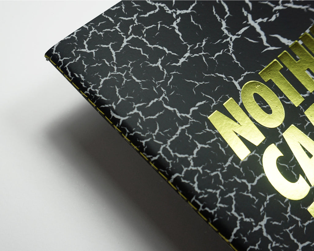 Nothing Came Easy Black Fracture - Monochrome A5 Luxe Notebook