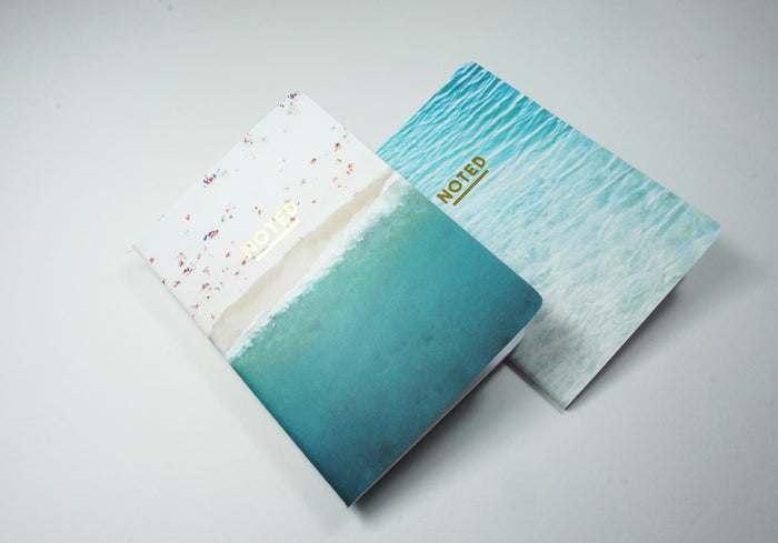 Beach Pocket Notes One - SUITCASE Pocket twin pack