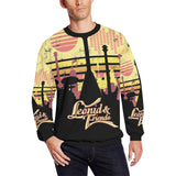 Leonid and Friends All over Longsleeve, Oversized Crewneck Sweatshirt for Men/Large (H18) - Sarx Clothing