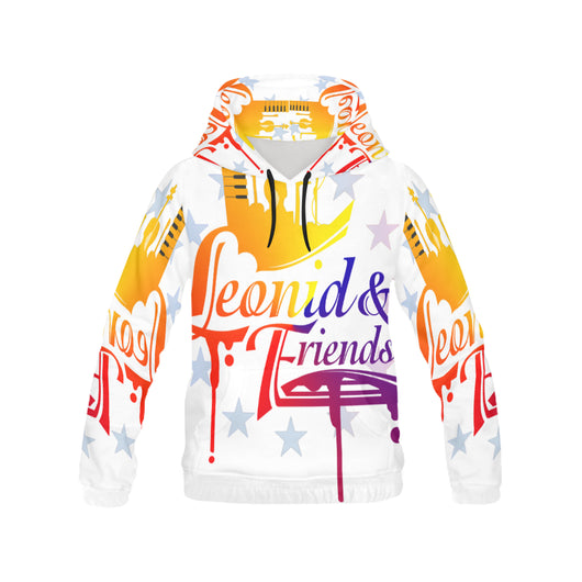 New Leonid All Over Print Hoodie for Womens, All Over Print Hoodie for Women (H13) - Sarx Clothing