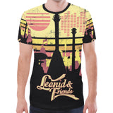 Leonid and Friends (Guitars) All over, New All Over Print T-shirt for Men (T45) - Sarx Clothing