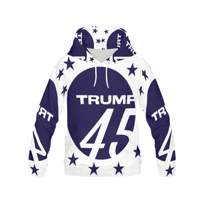 Trump45 Hoodie, All Over Print Hoodie for Women (H13) - Sarx Clothing