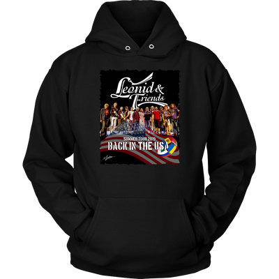 Leonid and Friends 2019 Tour Hoodie, T-shirt - Sarx Clothing