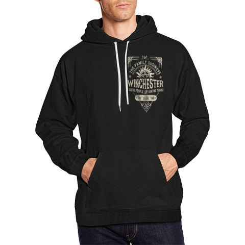 Winchester Family Hoodie, All Over Print Hoodie for Men (H13) - Sarx Clothing