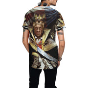President Trump Baseball Jersey, All Over Print Baseball Jersey for Men - Sarx Clothing