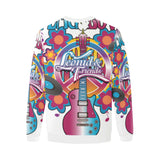 Leonid and Friends Peace and Love, Oversized Crewneck Sweatshirt for Men/Large (H18) - Sarx Clothing