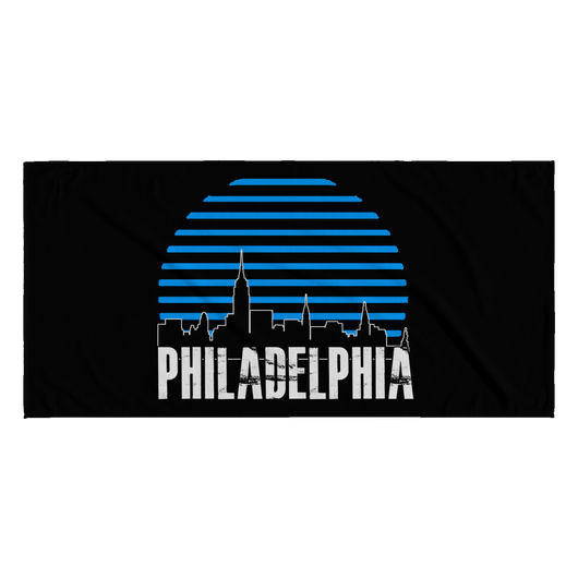 SarX Philly (Bluesun) Beach towel - Sarx Clothing