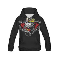 McGregor (Retro) Hoodie, All Over Print Hoodie for Men/Large (H13) - Sarx Clothing