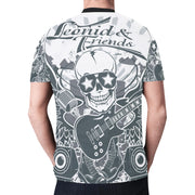 Leonid and Friends (Rock and roll Concert), New All Over Print T-shirt for Men (T45) - Sarx Clothing
