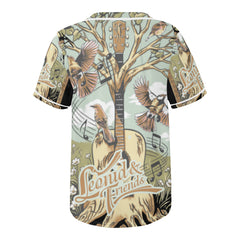 Leonid and Friends Baseball JErsey (Tree), All Over Print Baseball Jersey for Men (T50) - Sarx Clothing