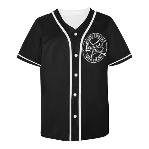 Leonid and Friends (BACK IN USA TOUR) Baseball Jersey, All Over Print Baseball Jersey for Men (T50) - Sarx Clothing