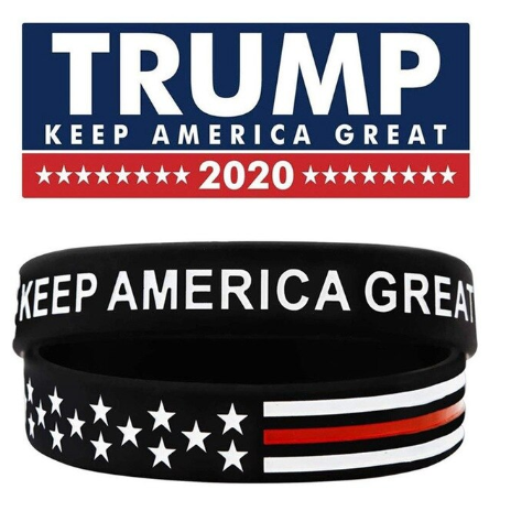 Trump 2020 Womens Bracelets,  - Sarx Clothing