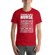 Reasons to love Nurses,  - Sarx Clothing