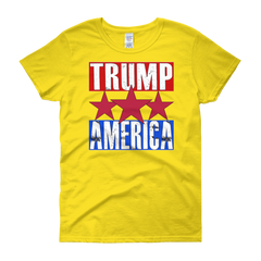 Trump America Women's short sleeve t-shirt,  - Sarx Clothing