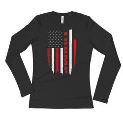 Trump Flag Long Sleeve T-Shirt,  - Sarx Clothing