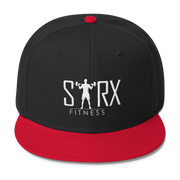 Sarx Fitness Hat Wool Blend Snapback,  - Sarx Clothing