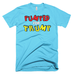 Pump for Trump Short sleeve men's t-shirt,  - Sarx Clothing