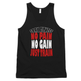 No Pain Classic tank top (unisex),  - Sarx Clothing