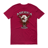 America is ours Short sleeve t-shirt,  - Sarx Clothing