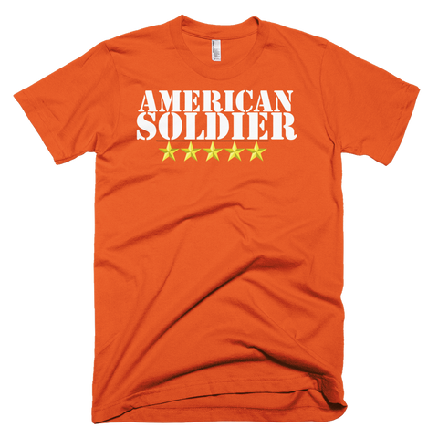 American Soldier Short sleeve men's t-shirt,  - Sarx Clothing