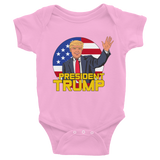PresTrump Infant short sleeve one-piece,  - Sarx Clothing