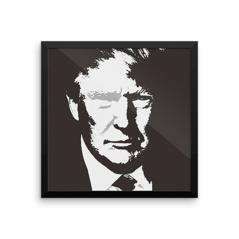 President Trump Framed poster,  - Sarx Clothing