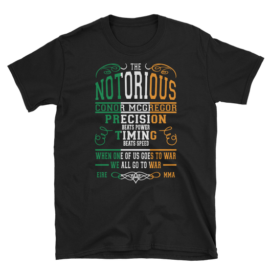 McGregor Notorious,  - Sarx Clothing